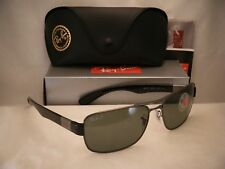 40ae4f5f95 Ray Ban 3522 Gunmetal w Grey Polar Lens NEW sunglasses (RB3522 004 9A 64mm