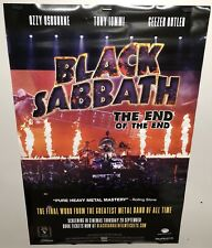 Original Movie Poster Black Sabbath Double Sided 27x40
