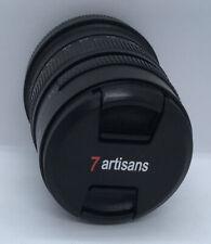 7 Artisans 55 MMF 1.4 Pro Photography Camera Lens No. 623965 Excellent Condition