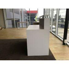 Brand New White Reception Desk Counter for 1.2m & 2m