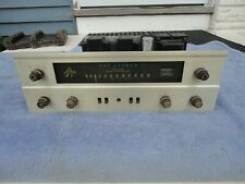 Fisher 400 Stereo Tube Receiver Tube Amplifier 7868 Output Tubes
