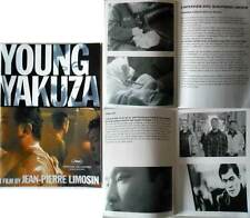YOUNG YAKUZA - Jean-Pierre Limosin - DOSSIER PRESSE/FRENCH PRESSBOOK