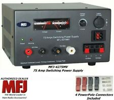 Mfj 4275Mv - 75 Amp Switching Power Supply With Meter, 4-16 Volts Adjustable New