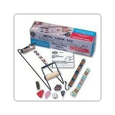 Indian Beading Loom Friendship Bracelet Necklace American Making Easy Kit Gift