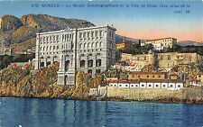 BR37886 Monaco le musee oceanographique et la tete de chien monaco