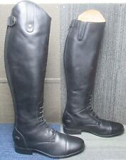 Wmns Ariat Heritage Contour Ii Field Zip Tall Equestrian Boot 11 B ~ Excellent