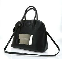 Valentino Bags by Mario Valentino Black Saffiano Leather Satchel bag 141772