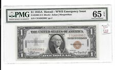 U.S.A Note: Dollar 1935A,''Hawaii'' WWII Emergency Issue, Grade PMG-65 EPQ