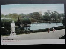 Birmingham HANDSWORTH PARK The Lake & Church, Water Fountain c1905 by J.G. 81