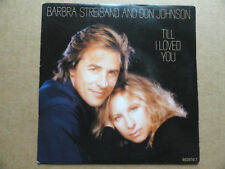 "DISQUE 45T  DE BARBRA STREISAND AND DON JOHNSON   "" TILL I LOVED YOU  """
