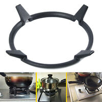 Universal Cast Iron Wok Pan Stand Support Rack For Burners Gas Hobs Cookers