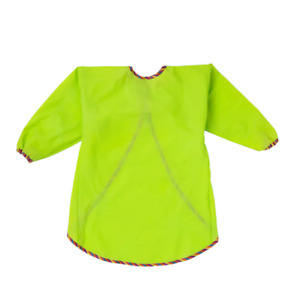 IKEA MÅLA, Kids Apron with long sleeves, green
