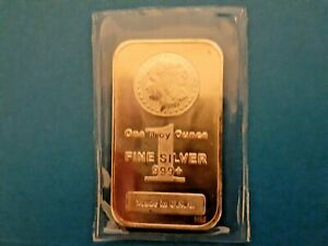 1 oz Highland Mint Silver Bar Mercury Design .999 + Fine