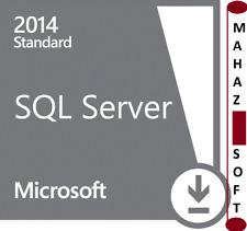 Microsoft SQL Server 2014 Standard Genuine License Core Key+32/64 BITS+RETAIL