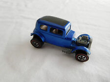 1968 Hot Wheels Redline Classic 32 Ford Vicky Blue