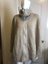 Lafayette 148 Cape Pancho zip up Small Alpaca Wool
