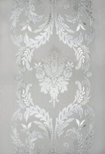 "CHATEAU Etched Glass Sidelight Window Film  12"" x 83"" Vinyl Static Cling Films"