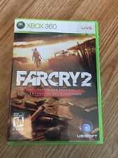 Far Cry 2 Preorder Edition Xbox 360 Cib Game Complete Mint Disk Nice Rare W1