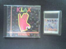 KLAX x PC ENGINE VERSIONE USA Pcengine duo duo-r nec turbo grafx no necfx