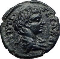 GETA w SEPTIMIUS SEVERUS 209AD Ancient Roman Coin Pautalia in THRACE i73187