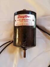 DAYTON small electric motors 115 Volts Model 2M033 AC/DC Motors