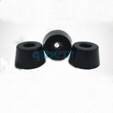 4pcs I/D 3mm Hole 17*13*14mm Rubber Feet Rubber Pad without Steel Insert Washer