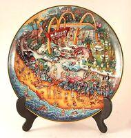 Franklin Mint Bill Bell McDonalds plate - Golden Summer - CP959