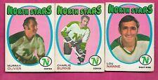 1971-72 OPC MINNESOTA NORTH STARS  CARD LOT  (INV# J0406)