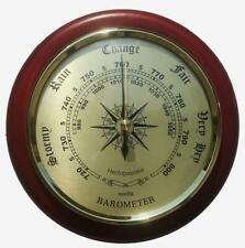 Wall Barometer Fine Weather Instrument For Your Home Or Ideal Gift Quality New