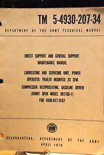 TM 5-4930-207-34 DEPT. OF THE ARMY TECHNICAL MANUAL APRIL 1970