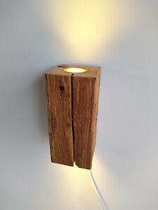 Wandlampe Altholz Lärche Geflammt Massivholz LED Smart Home