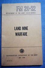 FM 20-32, Land Mine Warfare, 1959