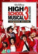 High School Musical 3 Senior Year Extended Edition DVD R4 Disney Original movie