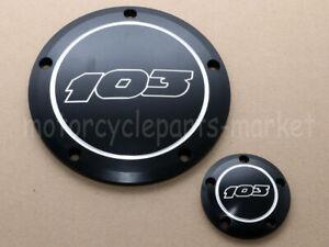 CNC Aluminum Derby Timer Cover For Harley Dyna FXDF FXDL FXDB Blackline FXS