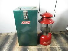 COLEMAN LANTERN 200 RED W / CASE  DATED 5 - 64   NO RESERVE
