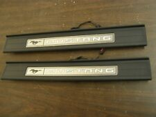 OEM Ford T/O 2015 2016 2017 Mustang Illuminated Sill Scuff Plates GT Trim