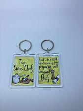 Top Class Chef Keyring - Xmas Gift Present Idea