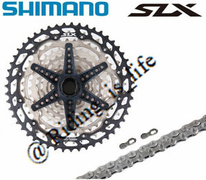 New SHIMANO SLX 1X12 SPEED GROUPSET CS-M7100 CASSETTE 51T+CN-M7100 CHAIN 2PCS