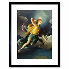 Painting Allegory Greek Mengs Diana Night Personified Framed Print 9x7 Inch