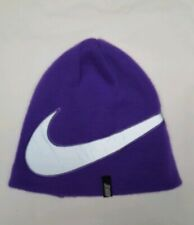 Nike Purple Beanie Ski Hat  Youth Unisex 4-6X
