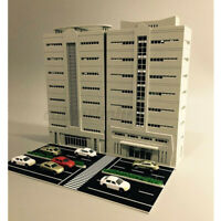 1pc 1/144 Outland Building Model N Scale Gauge Scene Modern House Apartment