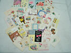 Vtg Greeting Card  LOT 44--  THANK YOU Cards--Used --1950-70's