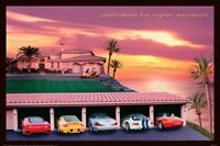 JUSTIFICATION FOR HIGHER EDUCATION - #1 CLASSIC COLLEGE POSTER (SUPERCARS)