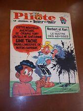 "JOURNAL ""PILOTE no 360"" (1966) COUV. GODARD / NORBERT ET KARI"