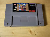 BreakThru - Authentic Tested  SNES Super Nintendo Game Ships Free !!
