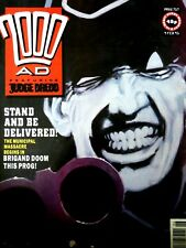 2000AD Classic Comic Book Number 717 9th February 1991 Stand & Be Delivered Rare