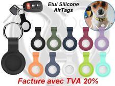 Porte Clé AirTags Etui en Silicone Haute Qualité Coque de Protection AirTag
