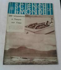 JDN SCIENCE ET MONDE N 65  du 11 8 1932 bateau l'Or  Santos Dumont  café brésil