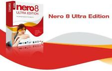 Nero 8 Ultra Edition Full Version,CD DVD Burn Rip Backup Software Suite Download
