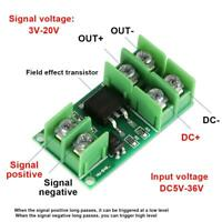 5V Low Control High Voltage 12V 24V 36V switch Mosfet Module for PWM Motor Pump